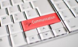 svart telefon för kommunikationsbegreppsmottagare Royaltyfri Foto