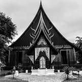 Svart tempel 96 Royaltyfri Fotografi