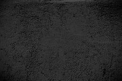 Svart textur, tom bakgrund för yttersidacementvägg för design royaltyfri foto