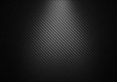 Svart texturerad materiell design för kol fiber Royaltyfri Bild