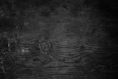 svart texturträ Arkivbilder