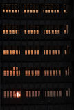svart torn Arkivfoton