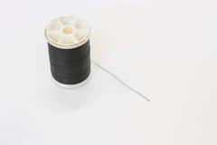 svart tråd Fotografering för Bildbyråer