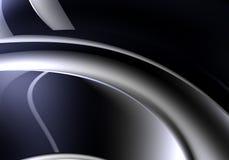 svart tråd för 01 bakgrund Royaltyfri Bild