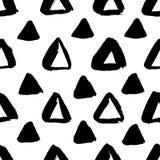 Svart triangelmodell för FÄRGPULVER vektor illustrationer
