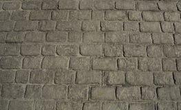 svart trottoartextur Royaltyfri Bild