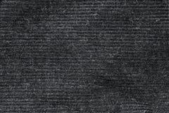 Svart tvättade matttextur, bakgrund för textur för linnekanfas vit Royaltyfri Bild