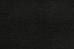 Svart tvättade matttextur, bakgrund för textur för linnekanfas vit Royaltyfria Foton