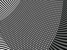 svart twirl arkivfoto