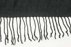 svart tyg för bakgrund Royaltyfri Foto