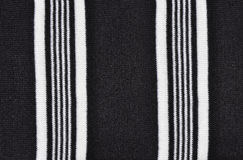 svart tyg lines white arkivfoton