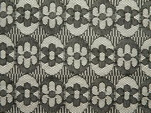 svart tyg snör åt Arkivbild