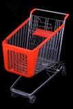 svart vagnsshopping för bakgrund Fotografering för Bildbyråer