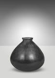 svart vase Fotografering för Bildbyråer
