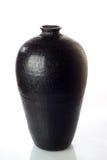 svart vase Royaltyfri Bild
