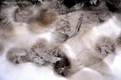 Svart vax med ljus och skuggor, abstrakt bakgrund Royaltyfria Bilder