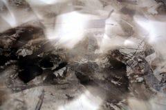 Svart vax med skuggor, abstrakt bakgrund Royaltyfri Bild