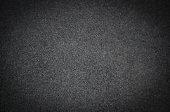 Svart vägbakgrund eller textur, asfalt Royaltyfria Bilder