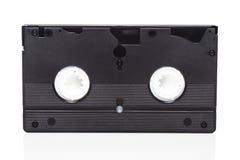Svart videokassett Fotografering för Bildbyråer