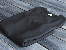 Svart vikt t-skjorta royaltyfria foton