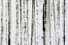 Svart vit och Grey Watercolour Stripes 1 Royaltyfria Foton
