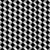 Svart & vitt geometriskt smattrande royaltyfri illustrationer