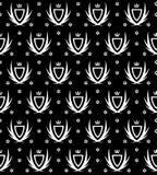 svart wallpaper royaltyfri illustrationer