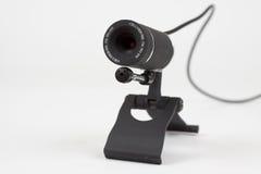 Svart webcam Arkivfoto