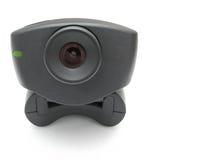 svart webcam royaltyfri foto