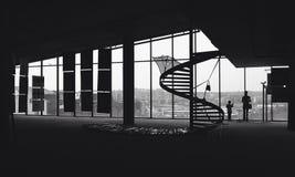 svart white Arkivbild