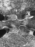 svart white Royaltyfri Fotografi