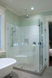 svart white för badrum