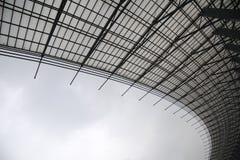 svart white för stålstruktur Arkivbild