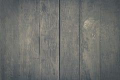 Svart Wood golvtextur Fotografering för Bildbyråer