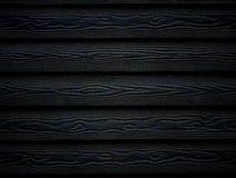 Svart Wood texturtapetbakgrund royaltyfria bilder