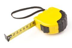 svart yellow för enkelt band för mått arkivfoto