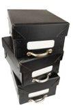 svarta askar för arkiv Royaltyfria Foton