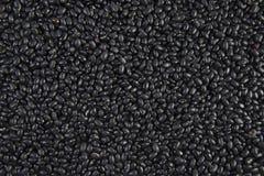 Svarta bönor för frö som är användbara för vård- texturbakgrund Arkivbild