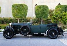 Svarta Bentley 1925 Fotografering för Bildbyråer