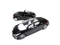 svarta bilar Royaltyfri Fotografi
