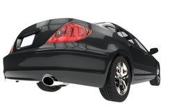 Svarta bilbaklyktor Royaltyfria Bilder