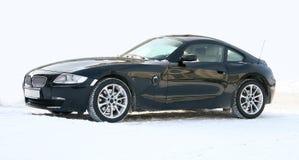 svarta bilsportar Royaltyfria Bilder