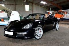 svarta bilsportar Royaltyfri Foto