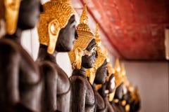 svarta buddha Royaltyfri Fotografi