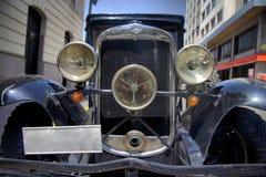 1950 svarta Chevrolet Arkivbild
