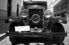 1950 svarta Chevrolet Royaltyfri Bild