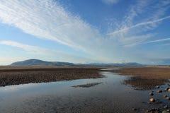 Svarta Combe och det engelska sjöområdet Fotografering för Bildbyråer