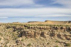 Svarta Dragon Canyon vaggar djupt bildande Arkivfoto