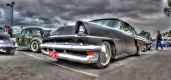 Svarta Ford Mercury Fotografering för Bildbyråer