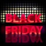 Svarta fredag för tryck strålkastare vektor illustrationer